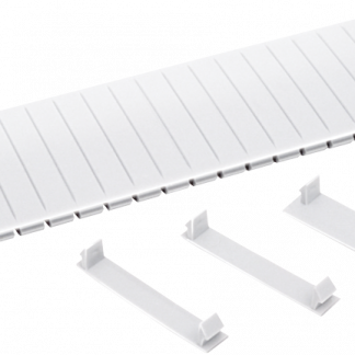 Заглушка 12 модулей белая IEK