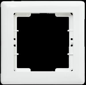 Рамка 1-местная РГ-1-ББ BOLERO белый IEK