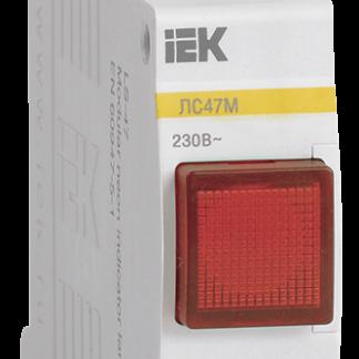 Сигнальная лампа ЛС-47М (красная) (матрица) IEK