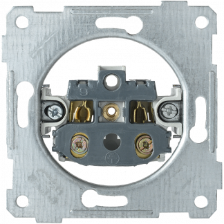 Розетка РС10-1-0-Б без заземляющего контакта 10А BOLERO IEK