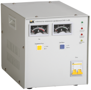 Стабилизатор напряжения СНИ1-3 кВА однофазный IEK