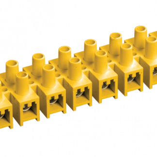 Зажим контактный винтовой ЗВИ-60 н/г 6,0-16мм2 12пар желтый IEK