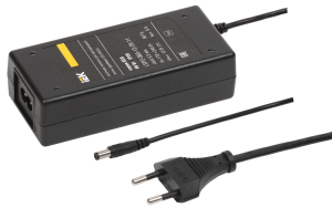 Драйвер LED ИПСН-ECO 60Вт 12В сетевая вилка-блок-Jack5,5 IP20 IEK