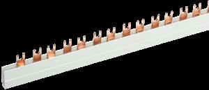 Шина соединительная типа FORK (вилка) 2Р 100А (длина 1м) IEK