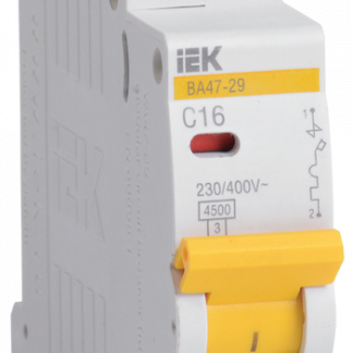 Автоматический выключатель ВА47-29 1Р 0,5А 4,5кА х-ка С IEK