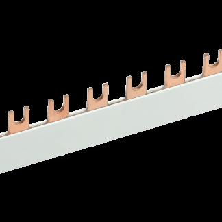 Шина соединительная типа FORK (вилка) 1Р 100А (длина 1м) IEK