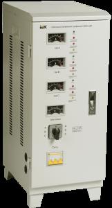 Стабилизатор напряжения СНИ3-6 кВА трехфазный IEK