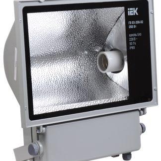 Прожектор металлогалогенный ГО03-250-02 асимметричный 250Вт E40 IP65 серый IEK