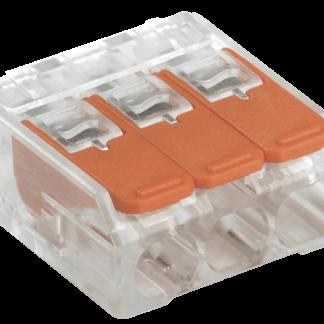 Строительно-монтажная клемма СМК 223-413 компактная (4шт/упак) IEK
