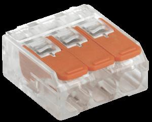Строительно-монтажная клемма СМК 223-413 компактная IEK