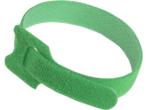 Хомут-липучка ХКл 14х135мм зеленый (100шт) IEK