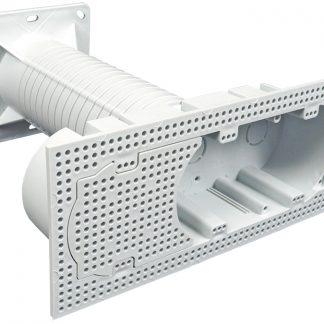 Электроустановочная коробка для фасадов КФ-3 120х230х250мм IEK