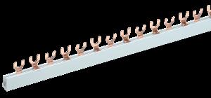 Шина соединительная типа FORK (вилка) 2Р 63А (длина 1м) IEK
