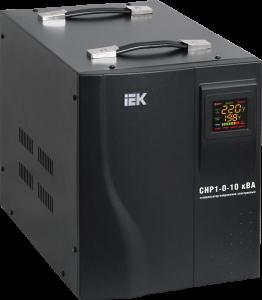 Стабилизатор напряжения серии HOME 10 кВА (СНР1-0-10) IEK