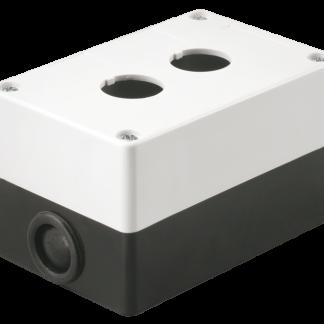 Корпус поста КП102 для кнопок управления 2 места белый IEK