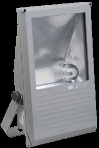 Прожектор металлогалогенный ГО01-150-02 асимметричный 150Вт Rx7s IP65 серый IEK