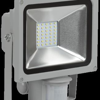 Прожектор светодиодный СДО 05-20Д (детектор) SMD IP44 серый IEK