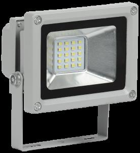 Прожектор светодиодный СДО 05-10 SMD IP65 серый IEK