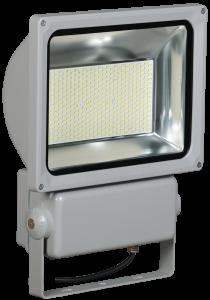 Прожектор светодиодный СДО 04-200 SMD IP65 серый IEK
