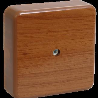 Коробка распаячная КМ для о/п 100х100х44мм дуб IEK