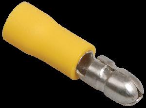 Разъем изолированный РшИп5,5-4 штеккер (20шт) IEK
