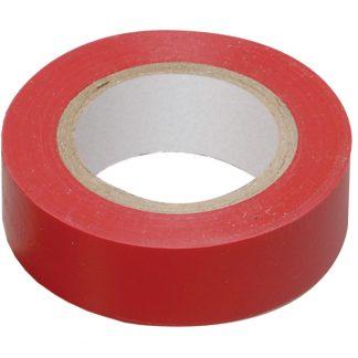 Изолента 0,13х15мм красная 20м ИЭК