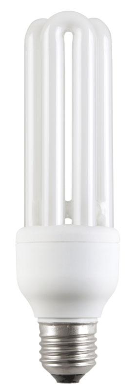 Лампа энергосберегающая КЭЛ-3U Е27 15Вт 2700К Т3 IEK