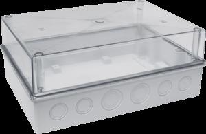 Корпус пластиковый навесной КМПн 5/16 IP55 с прозрачной крышкой IEK