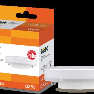 Лампа светодиодная ECO T75 таблетка 10Вт 230В 4000К GX53 IEK