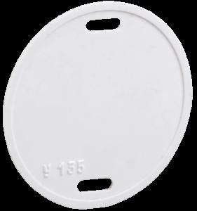 Бирка кабельная У-135 (круг 55мм) IEK