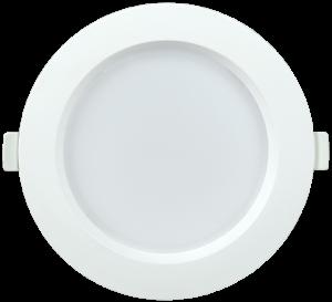Светильник светодиодный ДВО 1701 круг 9Вт 3000K IP40 белый IEK