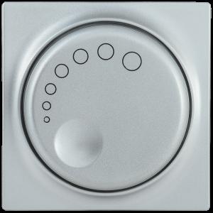 Накладка к светорегулятору НС-1-1-БС BOLERO серебряный IEK