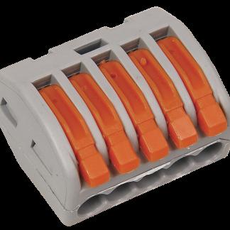 Строительно-монтажная клемма СМК 222-415 (4шт/упак) IEK