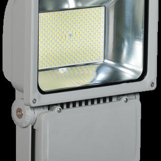 Прожектор светодиодный СДО 04-150 SMD IP65 серый IEK