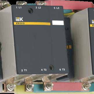 Контактор КТИ-51153 реверс 115А 400В/АС3 IEK