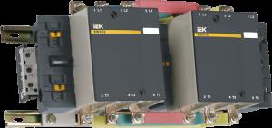 Контактор КТИ-52653 реверс 265А 230В/АС3 IEK