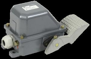Выключатель концевой НВ-701 У1 рычаг с 1-ой педалью 10А IP44 2 эл. цепи IEK