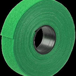 Хомут-липучка ХКл 16мм зеленый (5м/ролл) IEK