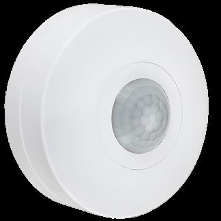 Датчик движения ДД-025 1200Вт 360град 6м IP20 белый IEK