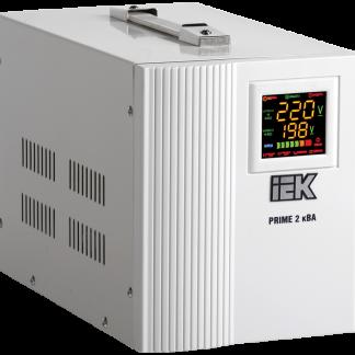 Стабилизатор напряжения переносной серии Prime 2 кВА IEK