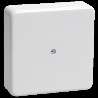 Коробка распаячная КМ для о/п 75х75х20мм белая IEK