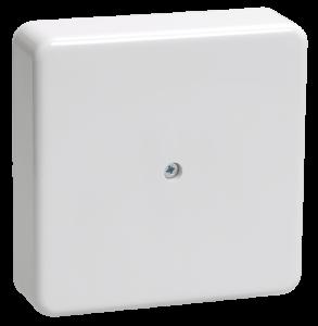 Коробка распаячная КМ41219 для о/п 100х100х29мм белая (6 клемм 6мм2) IEK