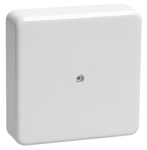 Коробка распаячная КМ для о/п 100х100х29мм белая IEK