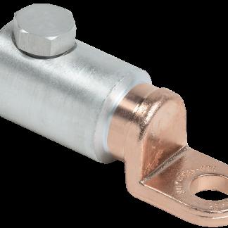 Медно-алюминиевый механический наконечник со срывными болтами АММН 120-185 до 1кВ IEK