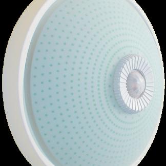 Светильник НПО3237Д 2х25 с датчиком движения белый IEK