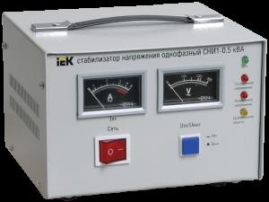 Стабилизатор напряжения СНИ1-0,5 кВА однофазный IEK