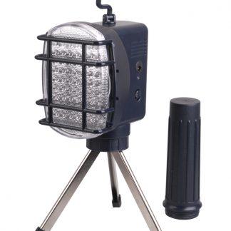 Светильник светодиодный переносной ДРО 2063Л 63LED 3ч триног Lith. IEK