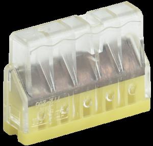 Строительно-монтажная клемма СМК 772-205 компактная (4шт/упак) IEK