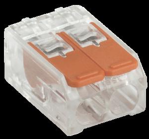 Строительно-монтажная клемма СМК 223-412 компактная (4шт/упак) IEK