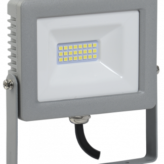 Прожектор светодиодный СДО 07-20 IP65 серый IEK